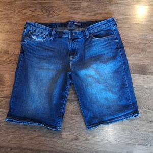 Gap Denim Distressed Bermuda Shorts 18